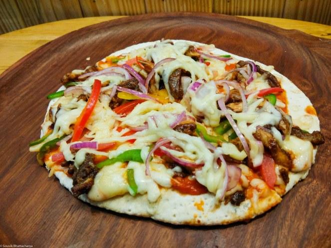 Chicken Mutton Pizza