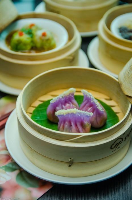 Smoked Vegetable Dumpling